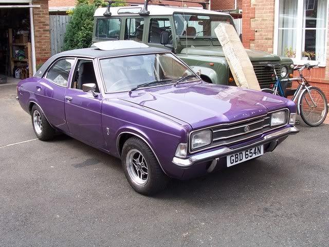 Mk3 Cortina Purple Google Search British Cars Classic Cars