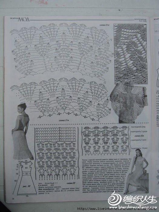 CARAMELO DE CROCHET: colete circular