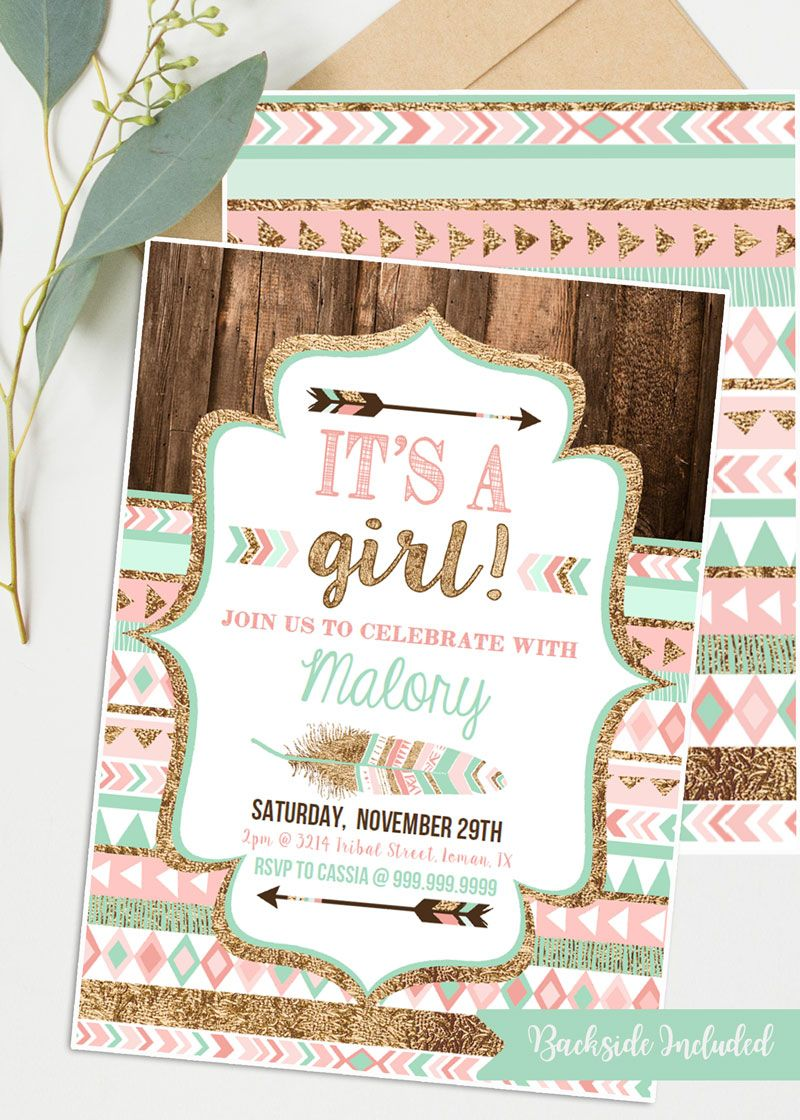 Minted Baby Shower Invitations
