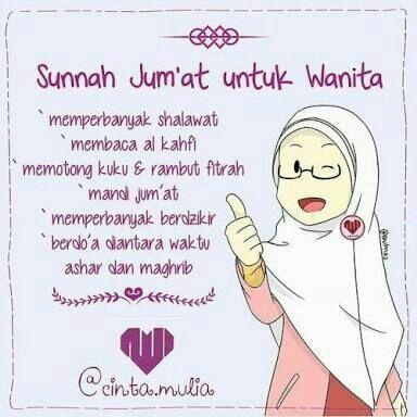 Sunnah Jumaat untuk wanita Learn Islam