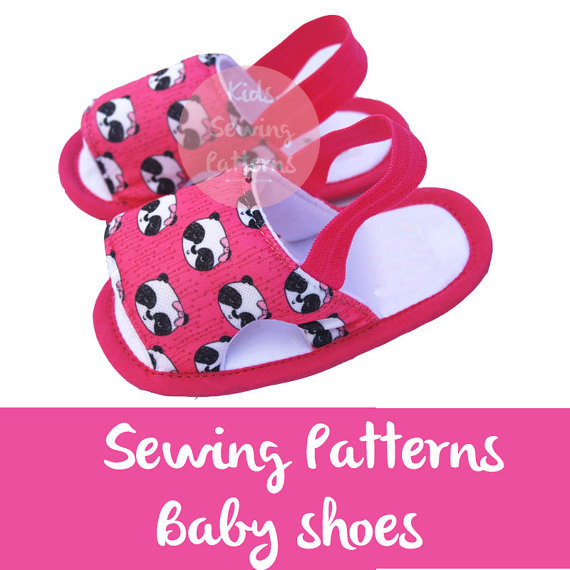 Baby sewing pattern PDF /Girls sandals summer/ cute shoes for girls ...