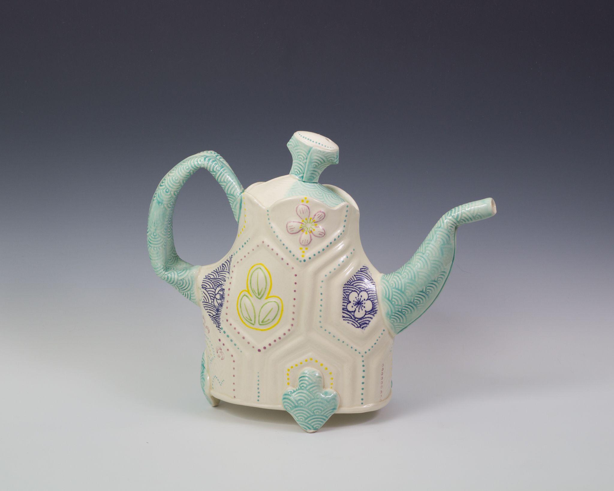 Amy henson coffee pot tea pots coffee pot pottery