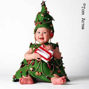 déguisement sapin de noël pour bébé   Christmas tree costume