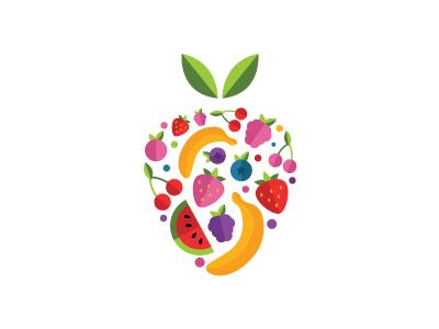 Eat fruits, kids! | Juice logo | Fruit logo, Fruit packaging