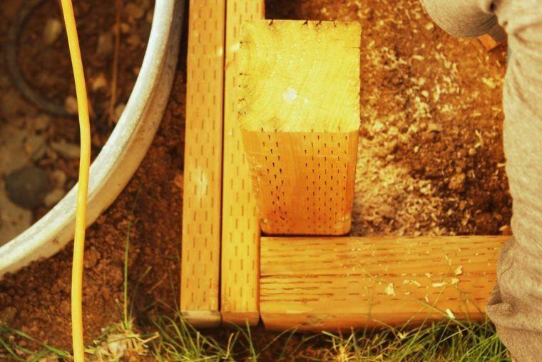 Fabrication terrasse bois  comment réaliser une structure terrasse - construire sa terrasse en bois soimeme