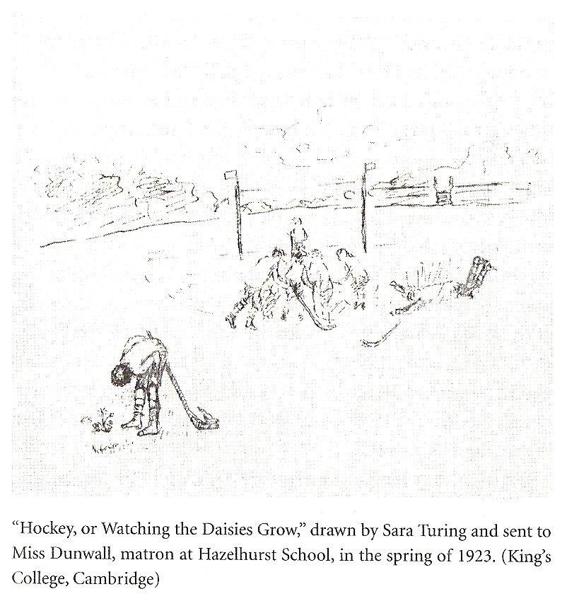 Alan Turing, Watching The Daisies Grow Alan turing