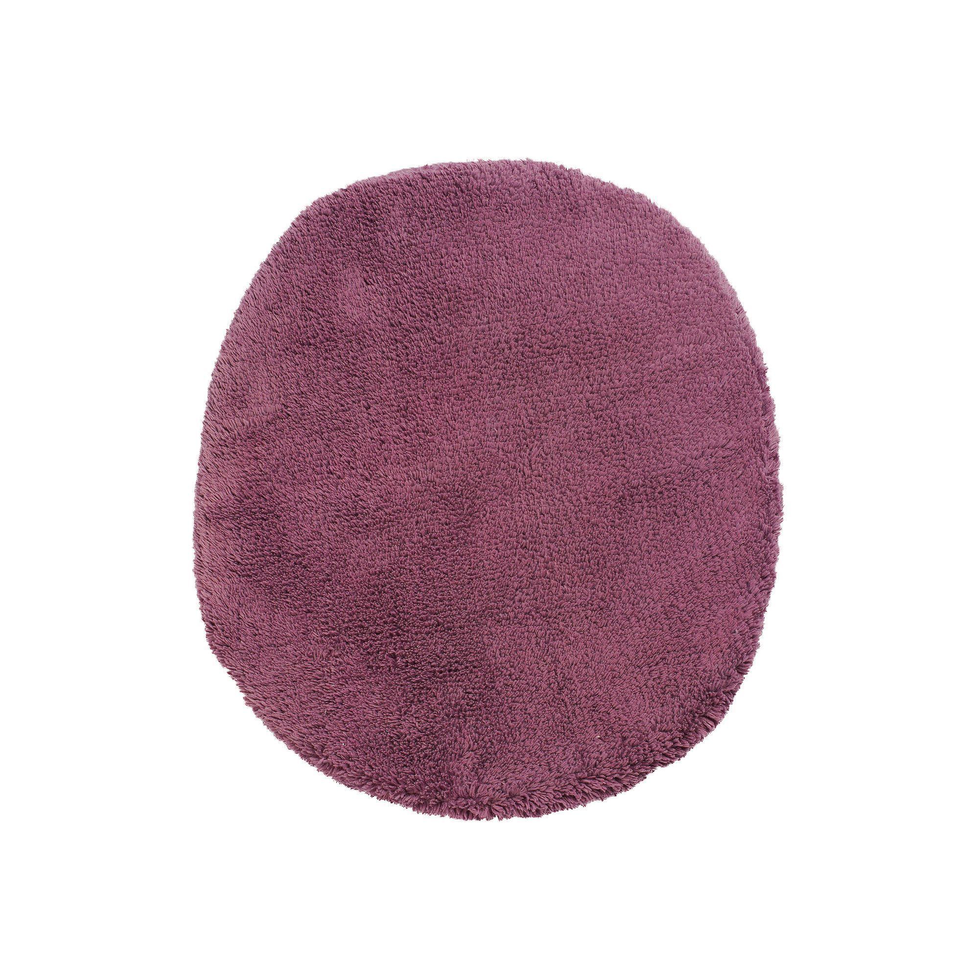 Simply Vera Vera Wang Simply Cotton Lid Cover, Purple