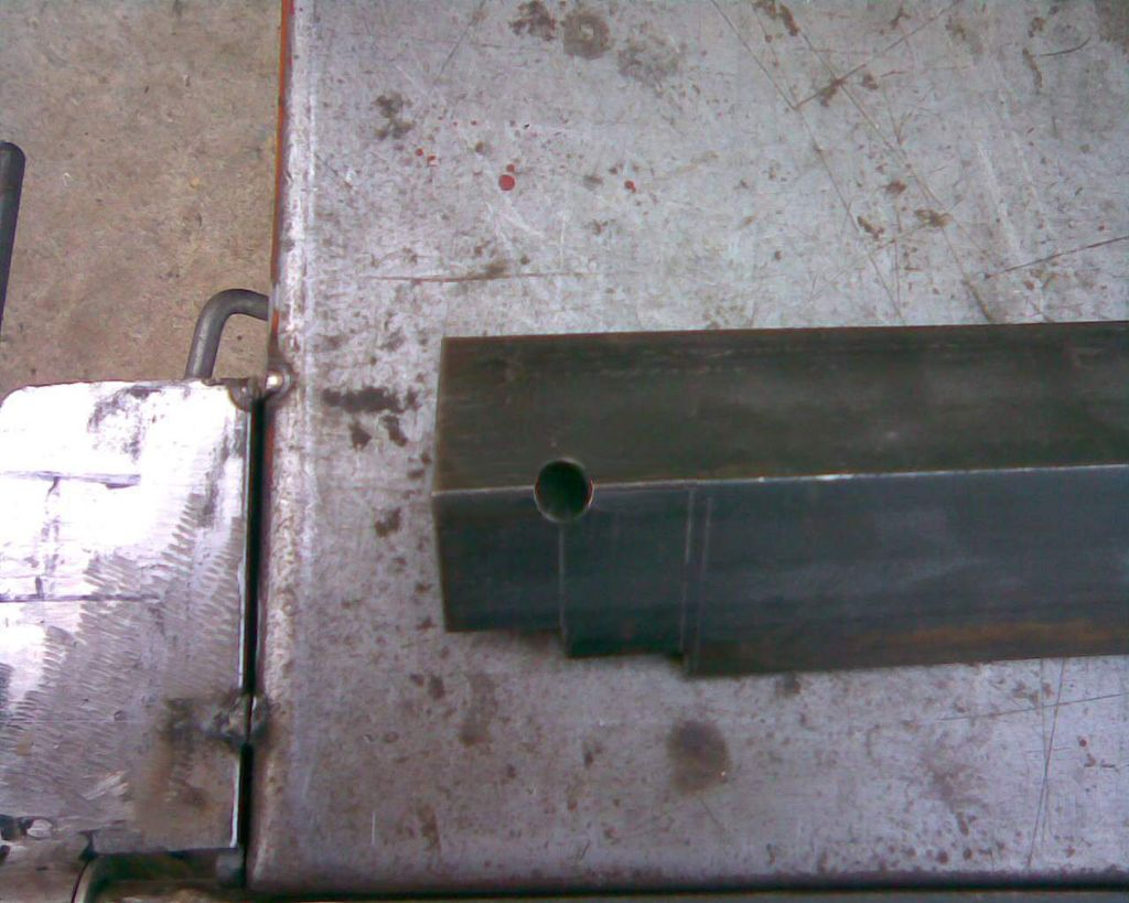 Diy Sheet Metal Bender Brake With Images Sheet Metal Bender Metal Bender Sheet Metal