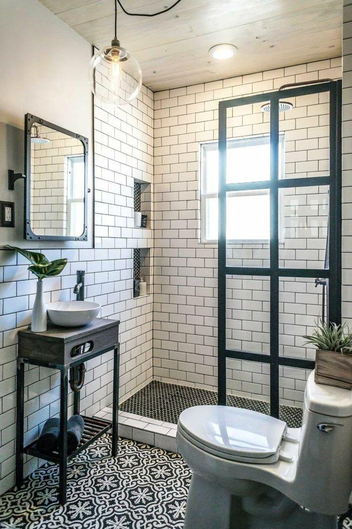 1001  Ideas de duchas de obra para decorar el bao con estilo  InTeRioReS   Bathroom Tiny house bathroom y Shower remodel