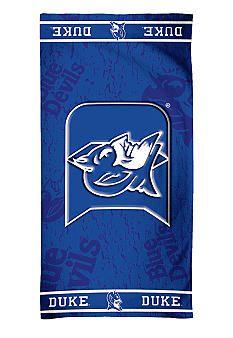 Basketball Stuff Duke Blue Devils Beach Towel