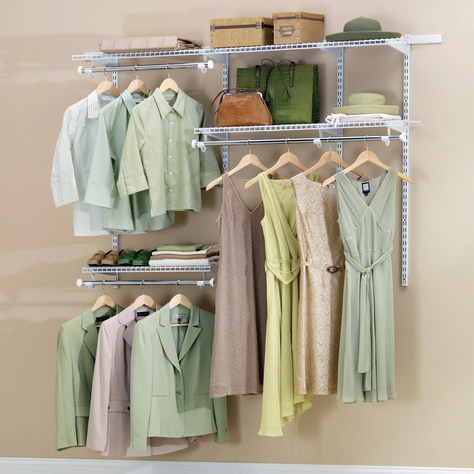 Genial Have To Have It. Rubbermaid Configurations White Finish 3   6 Ft. Classic Closet  Kit   FG3H1102WHT   $117.72 @hayneedle