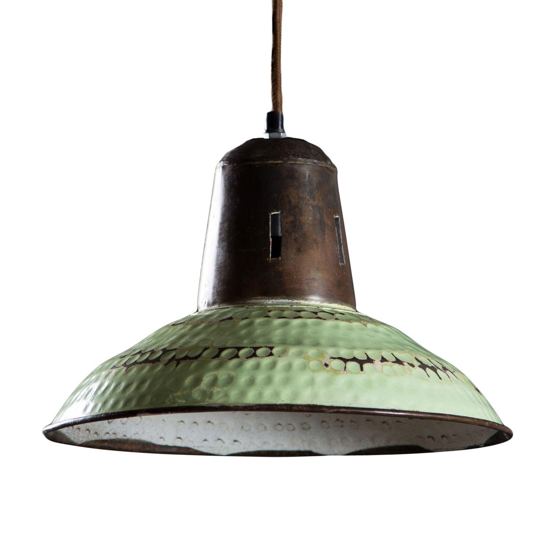 Unique Hanging Lamps goshen hanging lamp - vintage green | kitchens | pinterest