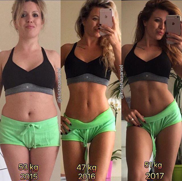transformation physique femme sport