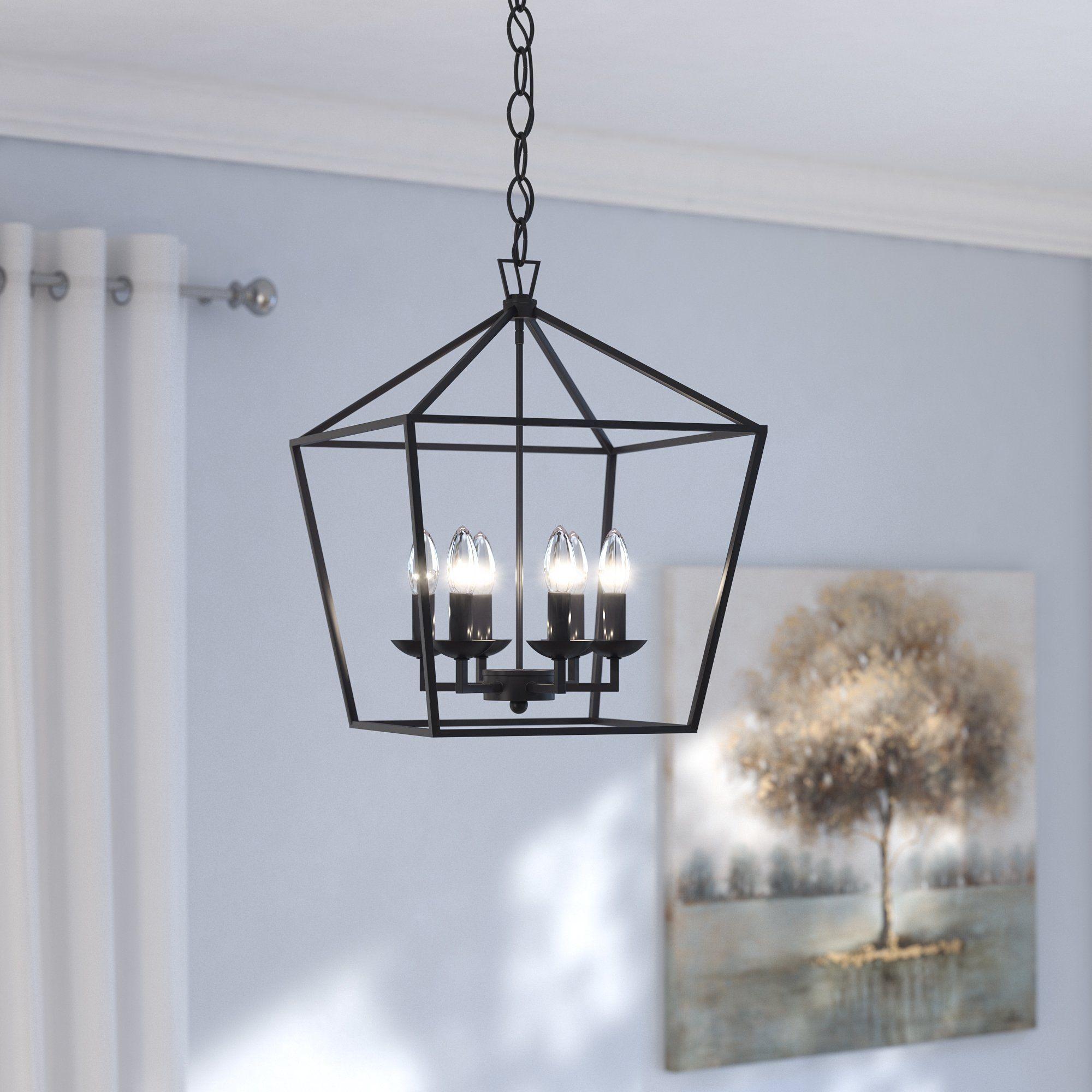 Laurel foundry modern farmhouse crest 6light lantern