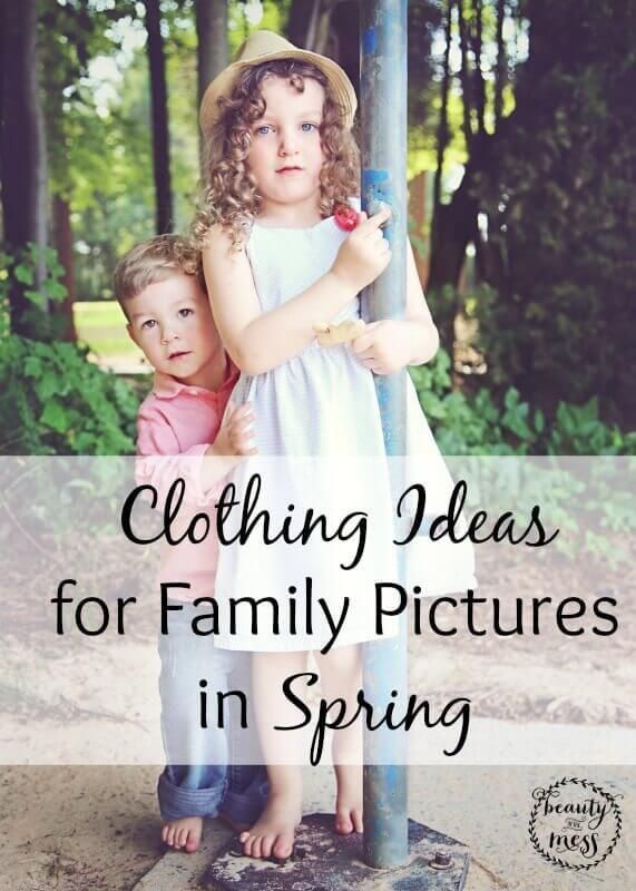 Clothing Ideas for Family Pictures in Spring is part of Clothes Ideas For Family Pictures - Clothing ideas for family pictures in spring  Green leaves  Brightly colored flowers  There isn't a better canvas for capturing this season with family