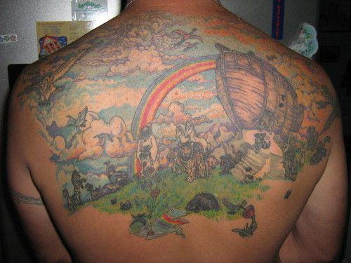 Noah 39 s ark tattoo tattoo ideas tattoos picture tattoos ark for Garden of eden tattoo