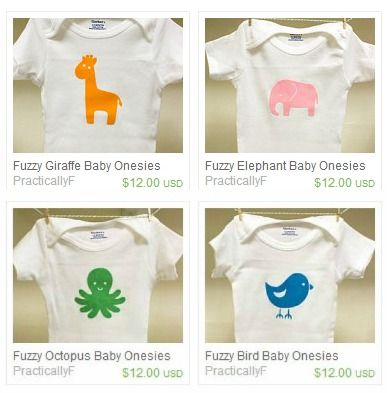Diy Fuzzy Baby Animal Onesies Baby Animals Onesies And Animal
