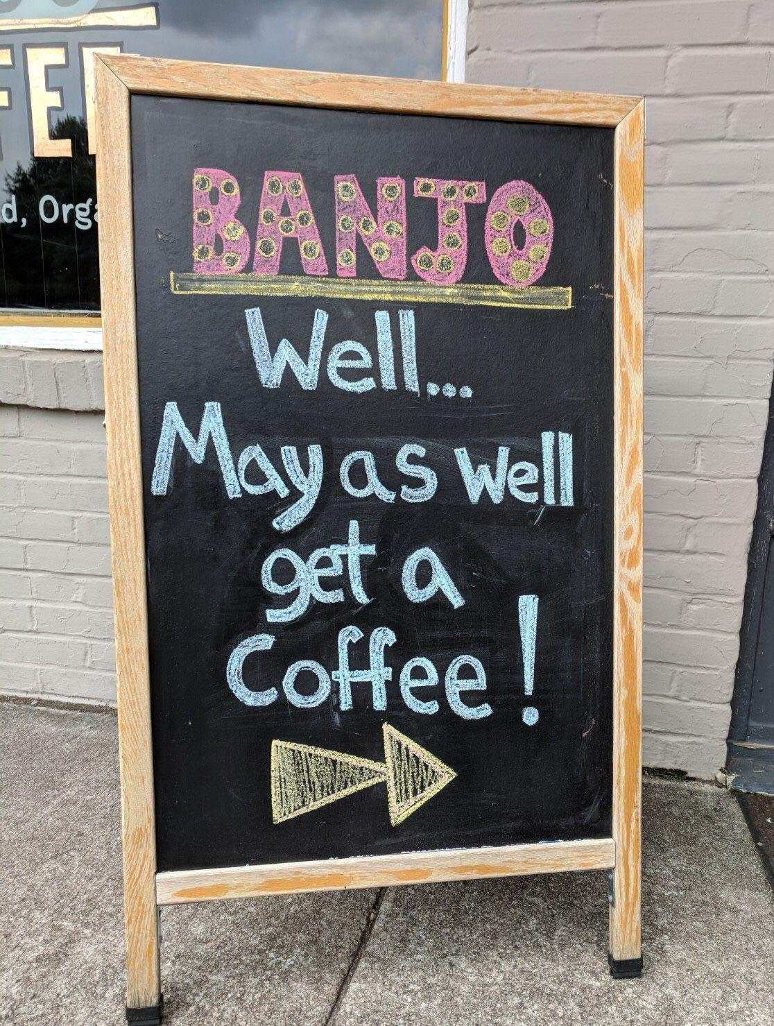 Pin by Banjo Cold Brew Coffee on Shop Chalk! Chalkboard
