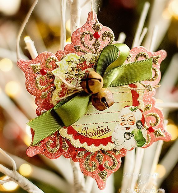 Pin On Paper Christmas Ornaments