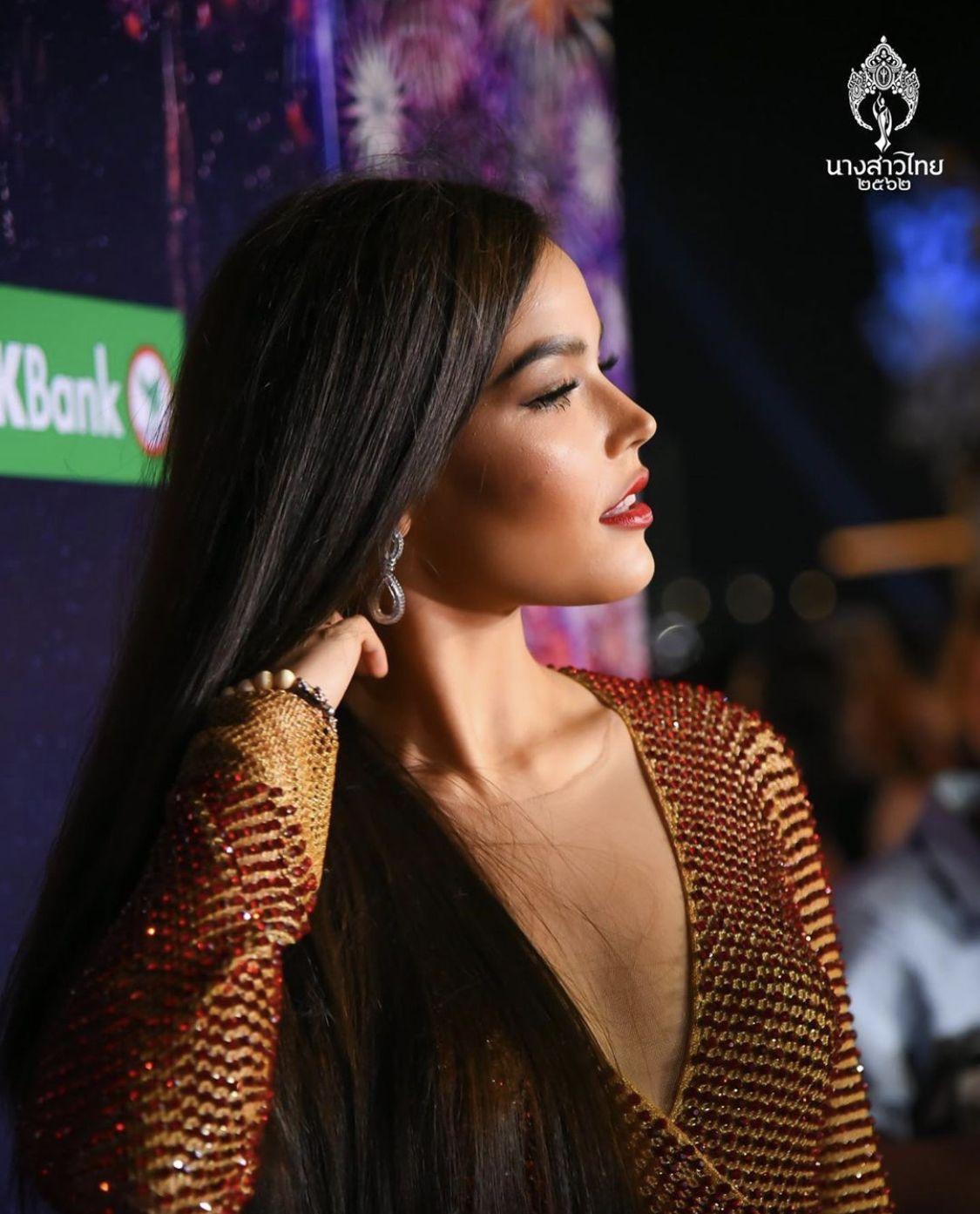 Very beautiful Fahsai Paweensuda Drouin at 2019 New Year's