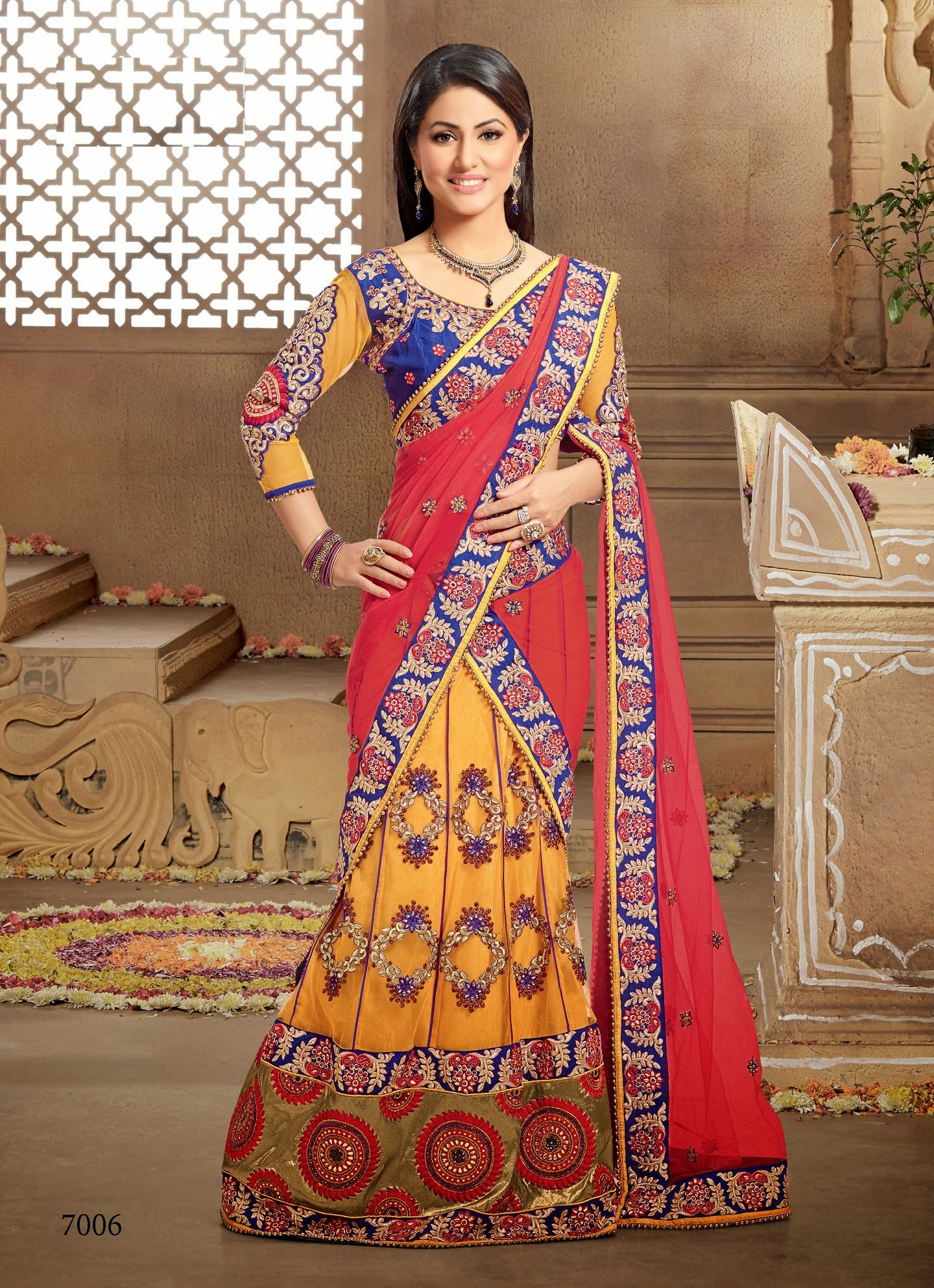 Fashion and you lehenga saree 8