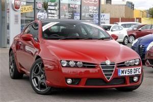 Alfa Romeo Brera S 3.2 JTS V6 3-Door Coupe Front image.