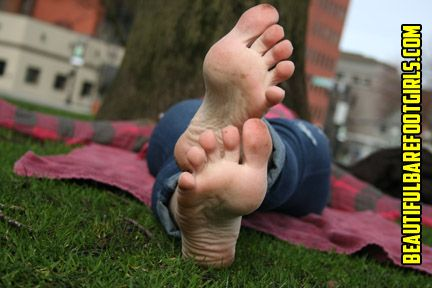 Wrinkeld foot fetish