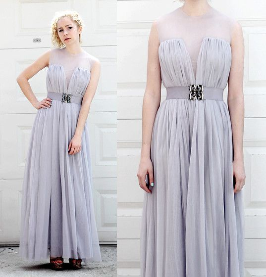DIY Prom Dress I Made for My Sister! (by Jackie C.) http://lookbook ...