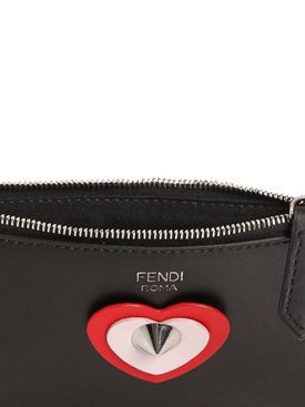 61f913db9ab Fendi - heart appliqué key case pouch | BAGS.....before my eyes!