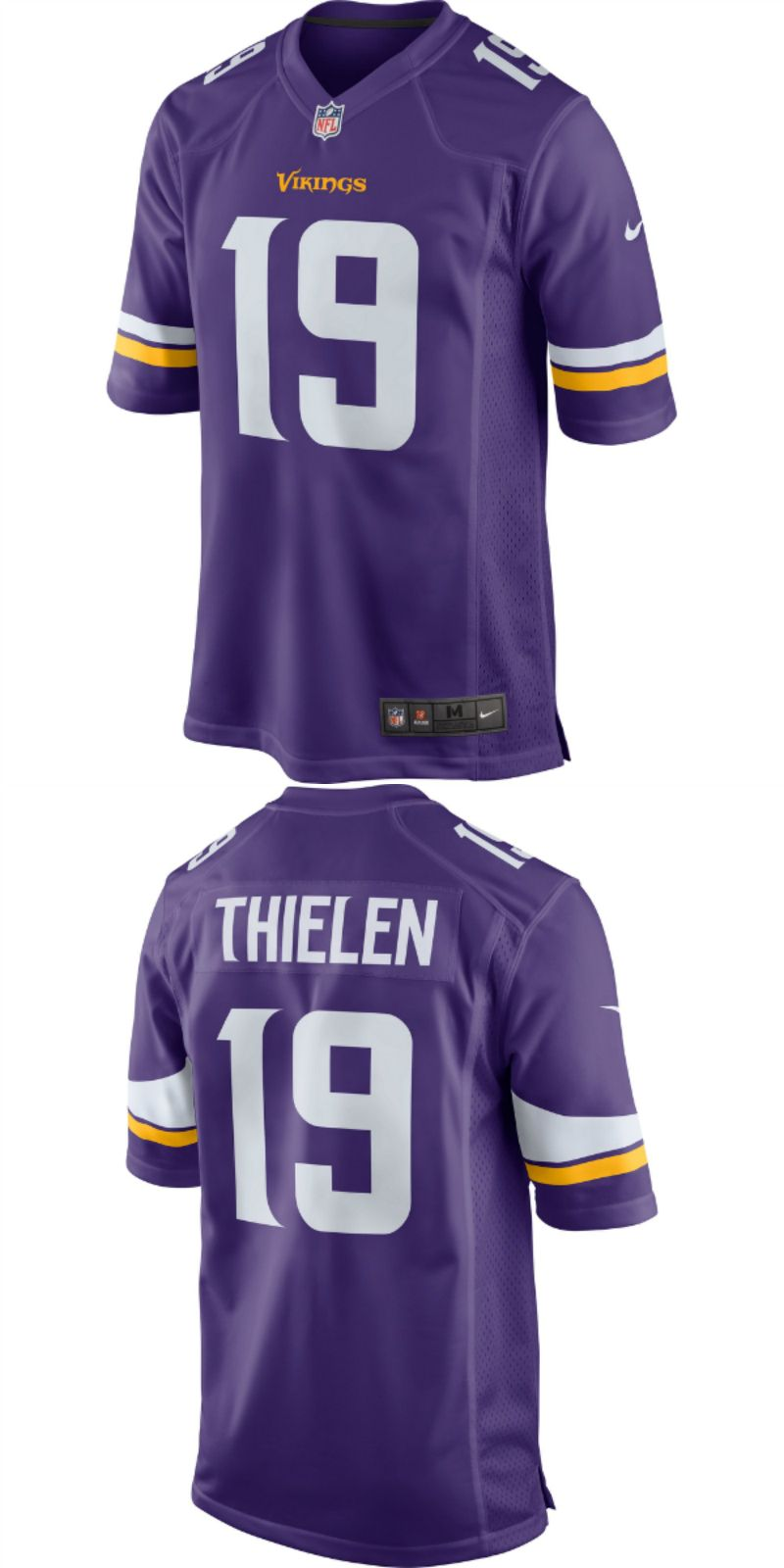 online store d109c 886c8 UP TO 70% OFF. Adam Thielen Minnesota Vikings Nike Game ...