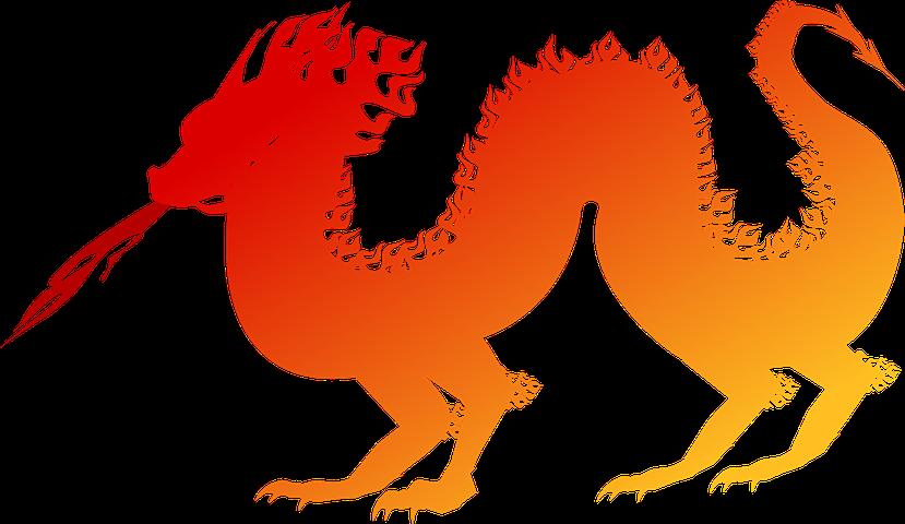 Imagen Gratis En Pixabay Dragon Chino Escupe Fuego Rojo Dragones Exposiciones Imagenes Gratis