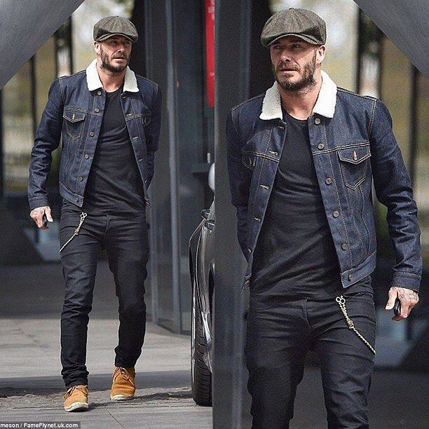 @davidbeckham #style Follow our friends at @garoto.estilo [ http://ift.tt/1f8LY65 ] @royalfashionistwatches