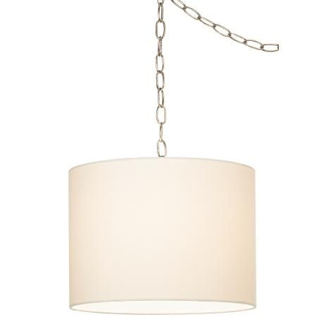 The Washington Post Featured Lamps Plus White Swag Chandelier In A Fun Playroom Makeover Read The Article Plug In Chandelier Plug In Hanging Light Swag Lamp