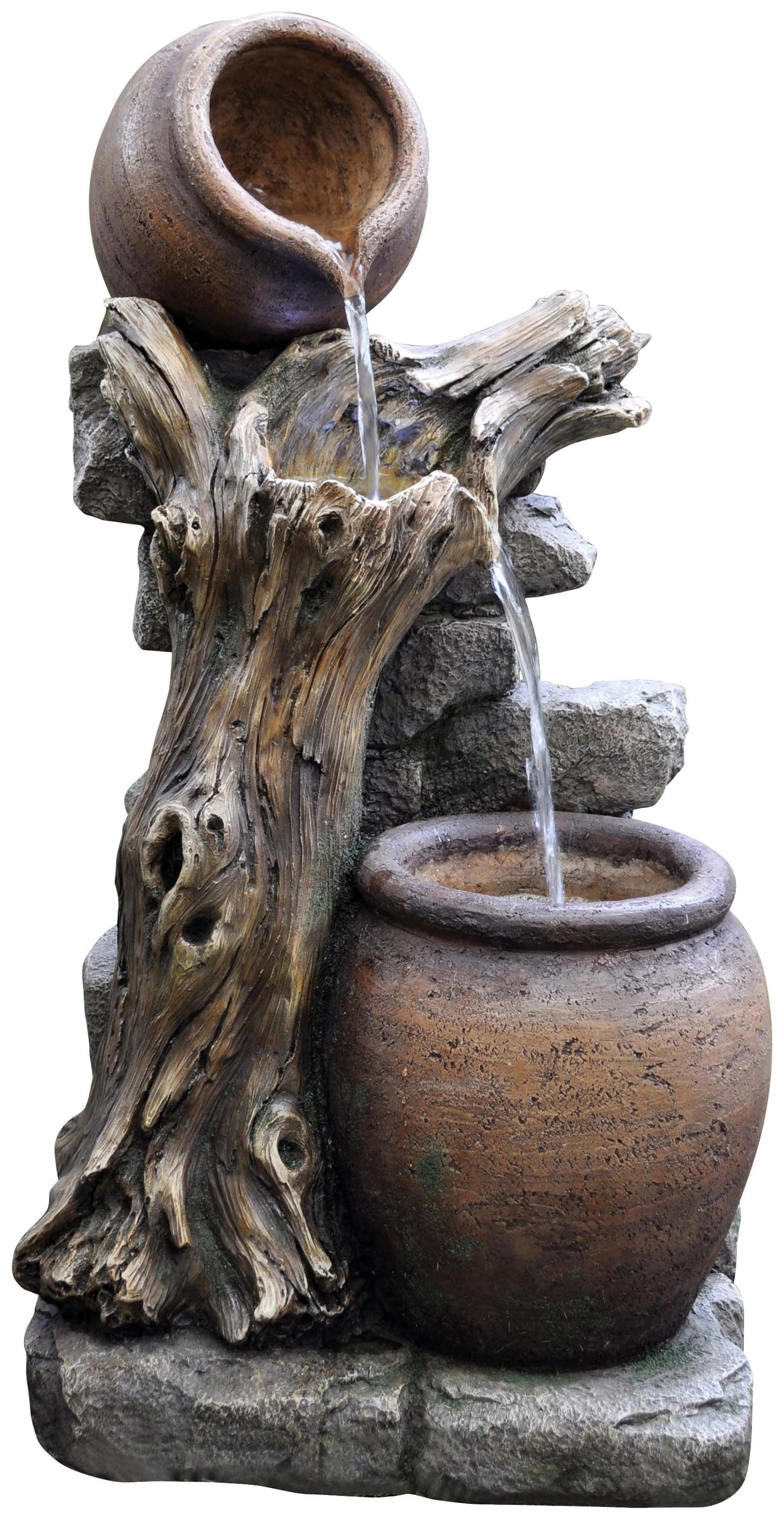 Easy Fountain Made From Durable Resin Stone Waterfountain Www K