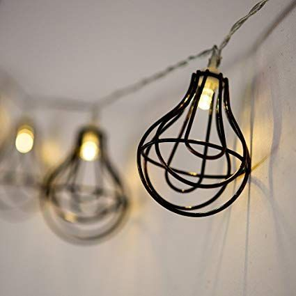 AFFILIATELINK LED Lichterkette \u0027Glühbirne\u0027, skandinavisch, Design