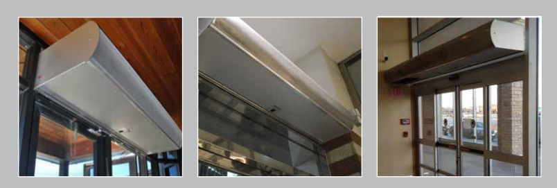 Where + How Do Restaurants Use Berner Air Curtains