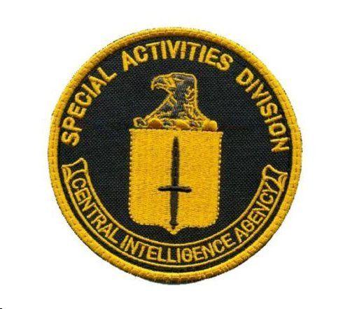 Cia sad badge