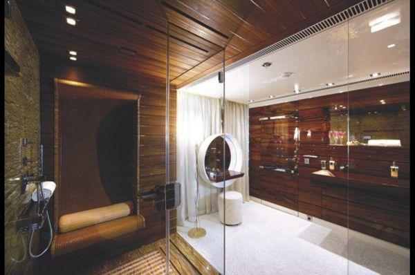 luxuriose innenausstattung yacht vive la vie, the luxury bathroom interior design | designer yatch interiors, Design ideen