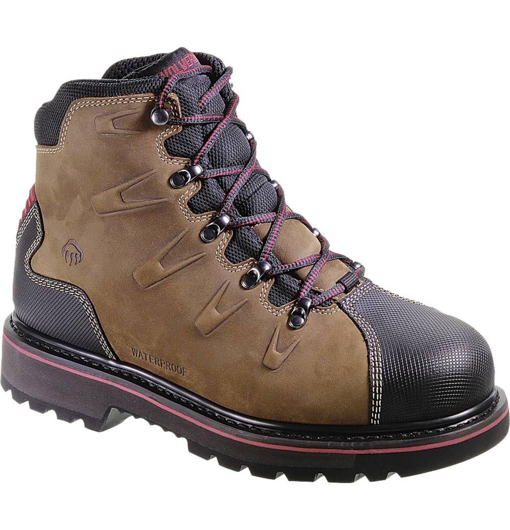 Men S Hacksaw Waterproof Steel Toe Eh 6 Work Boot W10263 Steel Toe Work Boots Wolverine Boots Steel Toe Work Boots Wolverine Boots