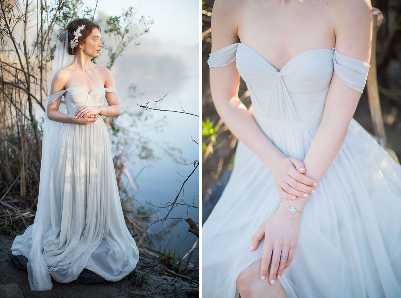 Inspired by Nature: Blue Heron + Wetland Wedding Inspiration ...