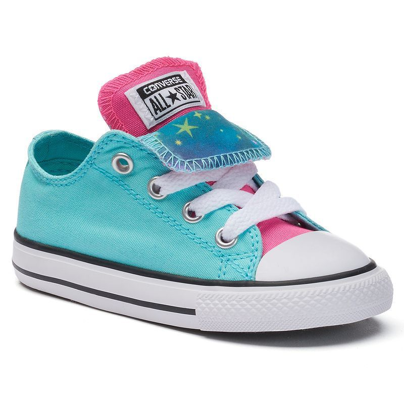 Toddler Converse Chuck Taylor All Star Double Tongue
