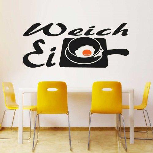 Wandtattoo-Weich-Ei-11 Wandtattoo Küche Pinterest - wandtatoo für küche