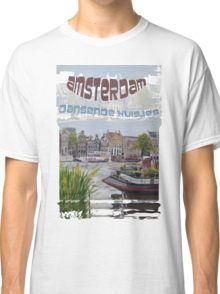 Amsterdam - de dansende huisjes Classic T-Shirt