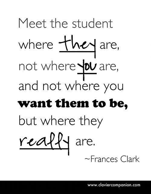 Image result for meet students where they are quote