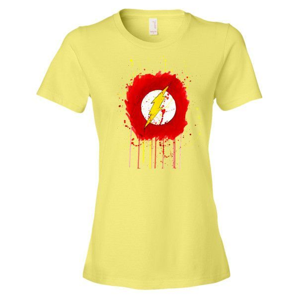 Ladies Grunge The Flash T-Shirt