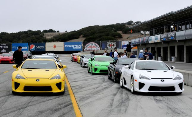 cars worth dollars lexus lfa draws 6m autoguide owner meet models via