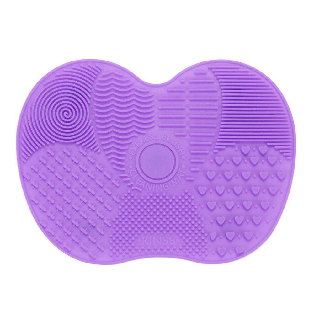 Foundation Make-Up Pinsel Wäscher Bord Silikon Make-Up Pinsel Reiniger Pad Machen Up Waschen Pinsel Gel Reinigung Matte Hand Werkzeug – 04,china