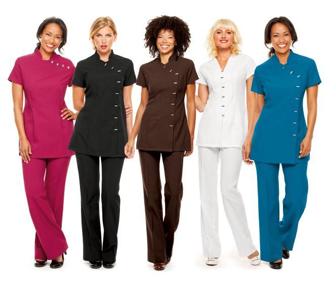 Fashion Nail Beauty Spa Elizabeth Nj: Spa Uniform, Salon Apparel, Spa Wear