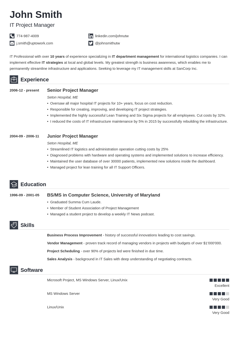 Builder Simple resume template, Resume templates, Simple