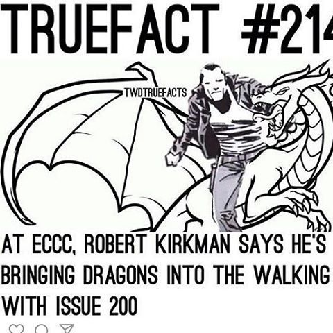 Lol. Ok, but Negan on a dragon would be fucking amazing.